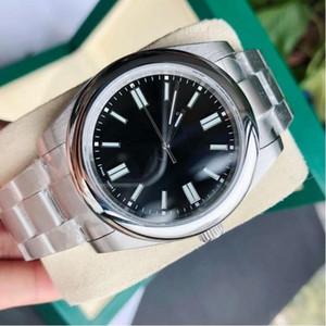 럭셔리 베스트 셀러 클래식 분위기 316L 스테인레스 스틸 하이 엔드 남성 여성 기계식 시계 고급 간단한 디자이너 남자 시계