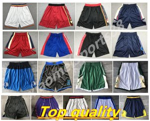 New Top Quality ! 2020 Team Basketball Shorts Men Running Shorts Sport Shorts College Pants White Black Red Purple Yellow Running