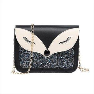 Mini Diamond Crossbody Bags for Women New Fox Bag Female Fashion Shoulder Bag Lady Casual Purses and Handbags Clutch
