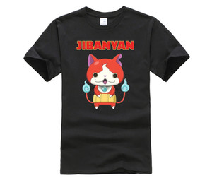 Phiking camisa do desenhista t Yo Kai Assista Jibanyan T Shirt For Men esporte moletom com capuz Hoodie