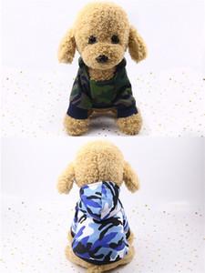 Весна Осень Зима Ткань Нового шаблон для домашних животных Одежда для собак Камуфляж грязеотталкивающего Красивого кота Два Legged Толстовка Hot Sale 5 5мл M2