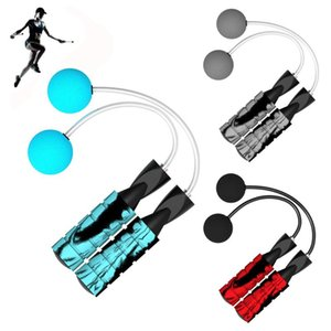 1PC New Ropeless Jump Rope Adjustable Cordless Skipping Weighted Bodybuilding Gym Training Indoor Outdoor Fitness Equipment