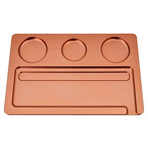 278*182mm Metal Cigarette Smoking Trays Matte Texture Smoking Tray Rolling Cigarette Tray Tobacco Plate Case Storage sea shipping LLA144