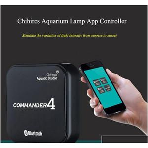 chihiros commander 1 commander 4 bluetooth app control led light dimmer controller modulator for aquarium fish tank HyQNR