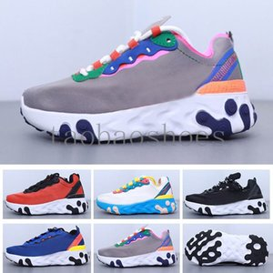 React Element 87 Undercover kids Running Shoes For Designer Sneakers Sports Mens Trainer Shoes Sail Light Bone Royal Tint PUU5Y