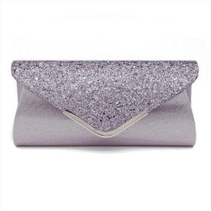 Evening Bags Fashion Women Ladies Glitter Clutch Bag Evening Wedding Party Prom Handbag Purse Drop Shipping
