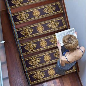 Stair piso colado com a família durável etapa chão removível autoadesiva PVC decoração impermeável e antiderrapante no banheiro