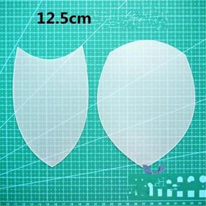 1pc Dessin plastique Outils Patchwork modèle en tissu fait main Matériel outil trois pièces Quatre pièces de bricolage Outils à coudre Sacs