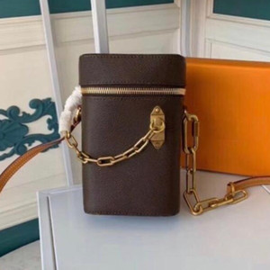New Mini phone box chain purse satche classic clutch Box Handbags for women Evening Bags Leather purse Cross Body Messenger Shoulder Bag