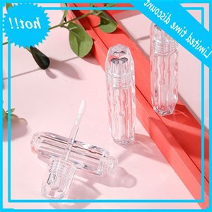 3ml Clear Wand Tube Empty Packaging DIY Diamond Lip Gloss Bottle Cosmetic Lipgloss Container Transparent Lipst