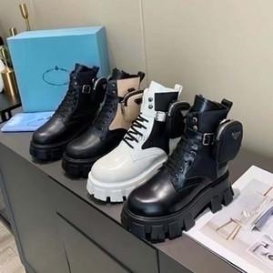 Frauen Designer Rois Stiefel Knöchel Martin Stiefel und Nylon-Boot Militär inspirierte Kampfstiefel Nylon bouch am Knöchel befestigt mit Gurt F1