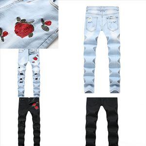 GWIW5 패션 디자이너 남성 청바지 짧은 남성 셔츠 남성 조깅 팬츠 Hooide Robin 바지 개인 남성 여성 슬림 티셔츠 셔츠 청바지