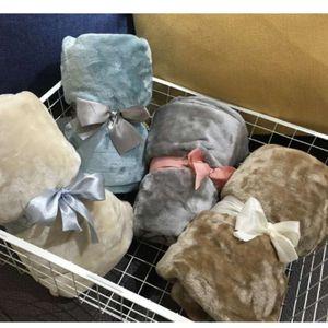 2019 latest 70*100cm, 20 style original single thickening mesh flannel office children's towel knee blanket car carpet
