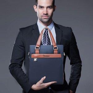 Pink sugao Mens Briefcase Business Bag Phome top pu Leather Mens Messenger tote Crossbody Bag Shoulder bag for work