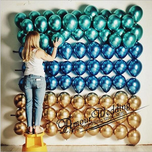 Balloons 12 Inch Happy Birthday Balloon Gold Latex Balloons Party Decorative Balloon Birthday Wedding Decorations Suppies LSK 3