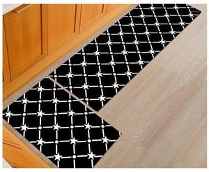 Lyngy noir drôle tapis de plancher cuisine longue tapis de tapis d'entrée lavable paillonds corridor extérieur tapis d'entrée de porte de porte 1PC1