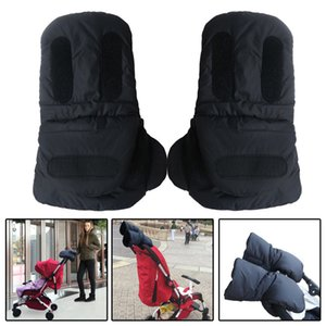 New Winter Stroller Warmer Gloves Baby stroller accessories anti-freeze hand muff baby carriage poussett gloves by cart glove 201026