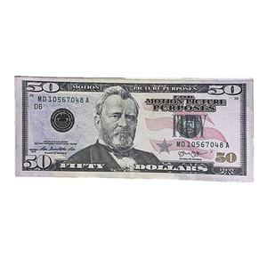 Magic Show الدعائم الفيلم اطلاق النار الولايات المتحدة العملة نسخة وهمية المال لعب الأطفال الدولار فاتورة هدية سريع الشحن 5G