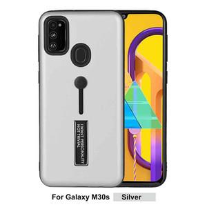 Telefonkoffer für Samsung Galaxy M30S PC Silikon versteckt Ständerabdeckung für Samsung Note 10 Plus A30 A40 A50 A70 A80 A90 M10 M20 M20