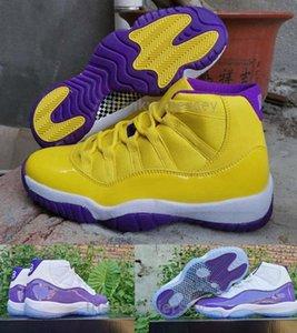 11 WMNS Metallic Silver retro Women Men Basketball Shoes Sneakers Jumpman 11s White Pink Vast Grey Glitter Basket Ball Sport Shoes Size 13
