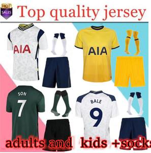 Balya Kane Erkekler Çocuklar Kiti + Çorap 20 21 Futbol Forması 2020 2021 Reguilon Formalar Oğul Futbol Gömlek Ndombele Üniformaları