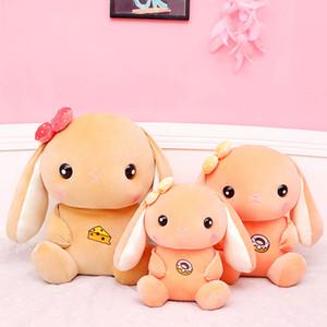 New Creative Long Ears Rabbit Toys 45~65cm Plush Toys Lovely Bunny Animal Stuffed Cushion Pillow Birthday Gift Girls Kids Photo Props