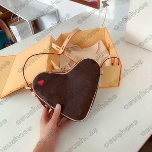Jeu sur Coeur Sacs à main Designers Vintage Messenger Bandoulière Cuir Cuir Handsbag