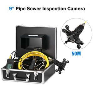 Fish Finder 7  9 Inch 20 50M Pipe Inspection Double Camera System Drain Sewer Pipeline Industrial Endoscope Camera1