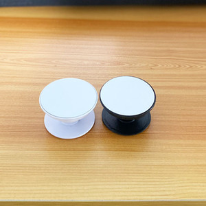 Özel Özelleştirilmiş Tutma Phone için Groove Blank Alüminyum Sublime Ekle ile 20pcs Sublime Çember Cep Telefonu Tutucu Dağı Standı