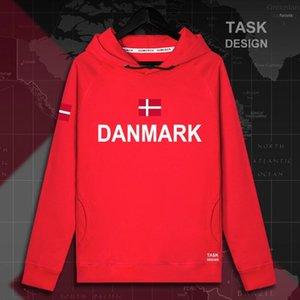 Dinamarca Danish Danmark DK DNK MENS HOODIE Sudadera con capucha Sudaderas con capucha Hombres Sudaderas NUEVO Streetwear Ropa Ropa deportiva Ropa de juego Nación F1