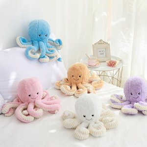 1pc 18cm Creative Octopus Plush Toys Octopus Whale Dolls & Stuffed Toys Plush Small Pendant Sea Animal Toys Children Baby Gift