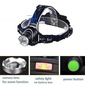 Led Strong Light Flashlight Aluminium Alloy High Power Adjustable Direction Focal Length 3 Modes Floodlight Head Lamp Outdoor 12 98yt M2