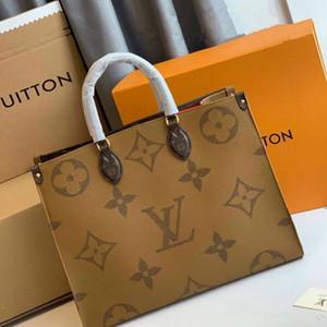 Donne del progettista della borsa della borsa Fiore OnTheGo GM frizione Tote ESCALE SPEEDY Crossbody di lusso Cuoio Shopping Shoulder Bag