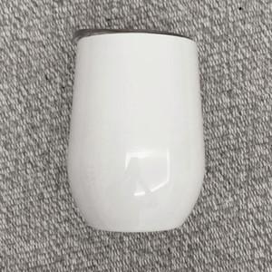 Sublime Kupalar Blank Beyaz 12oz sıcak satış Kahve Bardaklar şarap kupa DIY hediyeler DHE2285 bardak paslanmaz çelik Kaplı