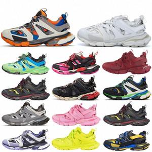 Parça 2 Koşucular Ayakkabı Erkek Bayan Track2 3.0 Sarı Pembe Siyah Spor Rahat Ayakkabılar Eğitmenler SneakersBalanciaga 02 E6HC #