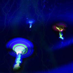 LED allumée lumineuse jouet volant lance-pierre Jouets volants Jouets de Noël Décor léger rapidement catapulte rapide
