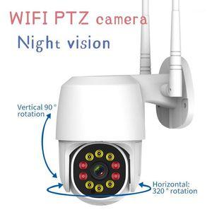 ourdoor-camera New Model EC101 360 degree Rotation PTZ Wifi-Camera 1080P Wireless Network Home Security CCTV Camera 360eye video1