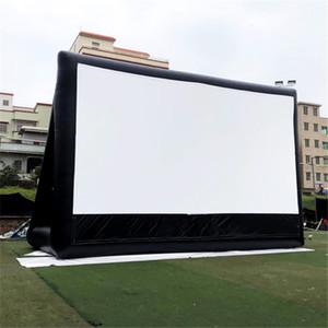 Oxford Aufblasbarer seltener Filmbildschirm im Freien- und Indoor-Theaterprojektor Leinwandprojektion Cinema Ballon für Event Party
