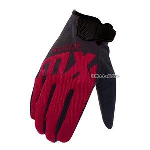 Empfindliche Fox Black Red Ranger MX MTB DH Dirtbike Scooter ATV Motorrad Motocross Mountain Bike Sport-Handschuhe