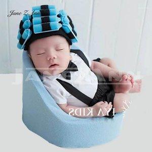 Jane Z Ann Newborn Photography Props Hair Hacing Sofá disfraces para Baby Photo Studio Tiroteo Accesorios1