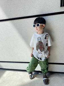 Hohe Qualität Kinder T-Shirt für Jungen 2021 Jungen Mädchen Hemd Baby Kinder Tops Cartoon Kinder Sommer Tops Kleidung 2-12 Jahre