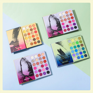 Beauty Glazed Makeup eyeshadow 3 Layers 72 Color Shades Pressed Eyeshadow Matte Shimmer Natural Eye Shadow Palette Free shipping