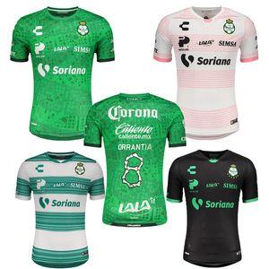 Dia de Muertos 2020 2021 Santos Laguna Soccer Jersey 20 21 سانتوس روزا Camisetas الفانيلة فورش جايل جارنيكا لكرة القدم قمصان