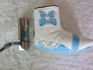 FAST Shipping Top Quality Women Ladies Blue Golf Putter +Putter Headcover Real Pics Contact Seller Any 2 Putters Get Big Discounts