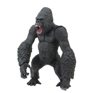 Büyük Gorilla Adası Film Sürümü Chimpanzee El-Maymun Figür Yapımı Oyuncak Model Süsler