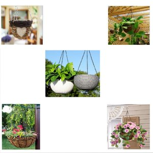 16pcs Iron 15\'\' Plant Basket Hanging Chain Hooks Wind Chimes Hanging Hook