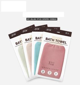 Luvas de banho esfregando Luvas esfoliantes Hammam Scrub Mitt Magic Peeling Glove Exfoliating Tan Remoção Mitt EWC3252