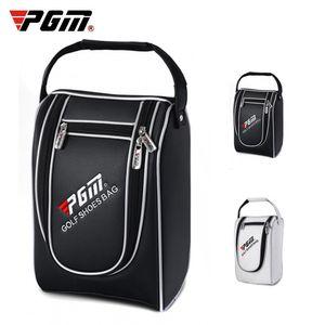 Golf Sport Shoes bag Multifunction Travel Tote bag Light Practical Travel Pack Shoe Pouch Waterproof Dustproof Handbags 2 Colors 201029