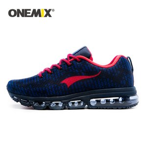 ONEMIX Men Trainers Running Shoes Summer Breathable Mesh Reflective Fashion Sneakers Air Cushion Non-slip Fitness Sports Shoes 201017