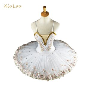white professional ballerina ballet tutu for child children kids girls adults pancake tutu dance costumes ballet dress girls 200928